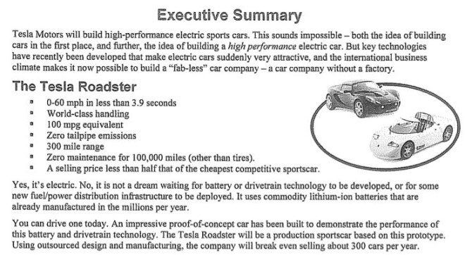 tesla business plan - 15marches